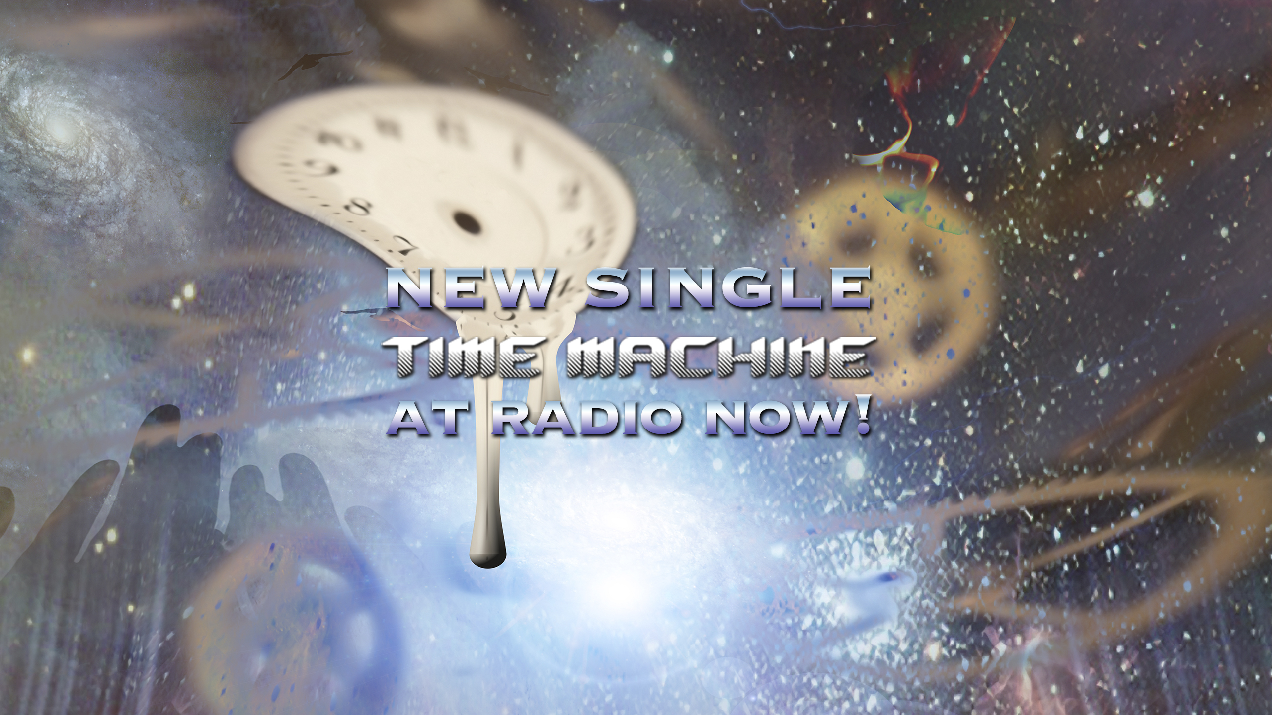 "New Single, ""Time Machine"" is now at Radio!  Call and Request it now!"